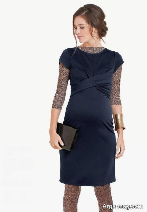 مدل لباس بارداری 98 ساده