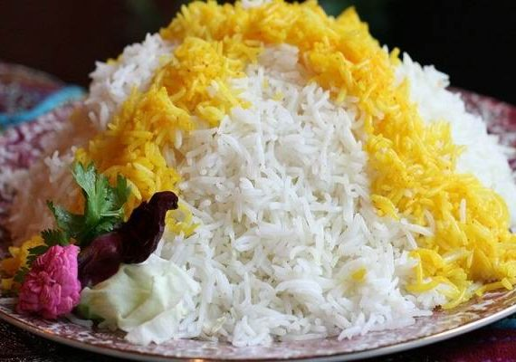 طرز تهیه برنج زعفرانی