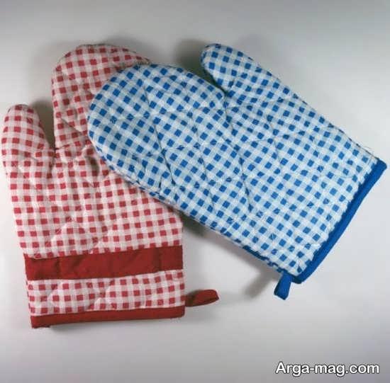روش دوخت دستکش برای آشپزخانه