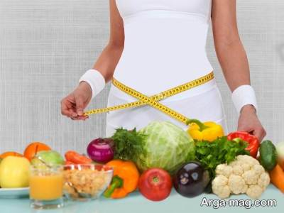 کاهش وزن با رژیم لاغری