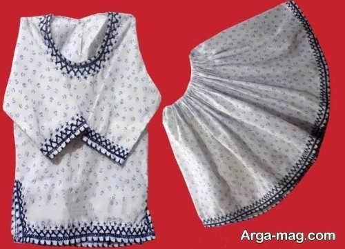 لباس زنانه سوزن دوزی
