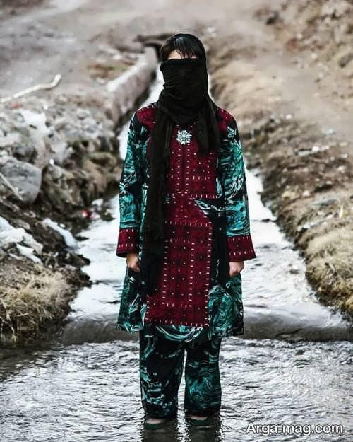 لباس زنانه سیستانی و بلوچستانی