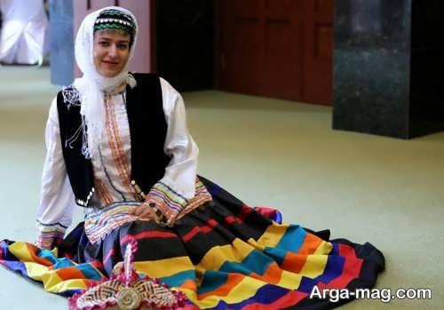 طرح لباس زنانه محلی