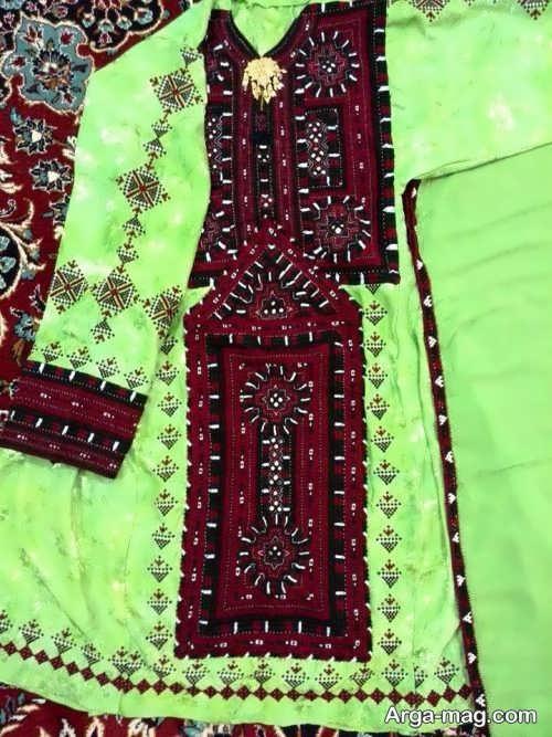 لباس سیستانی زیبا و شیک