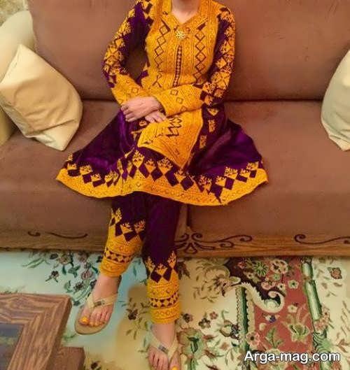 مدل لباس طرح دار سیستانی