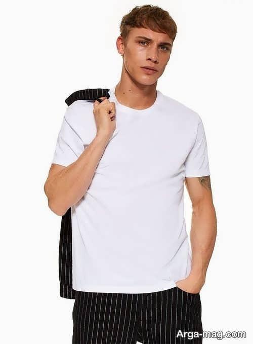 مدل تیشرت سفید
