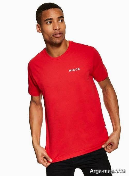 مدل تیشرت قرمز