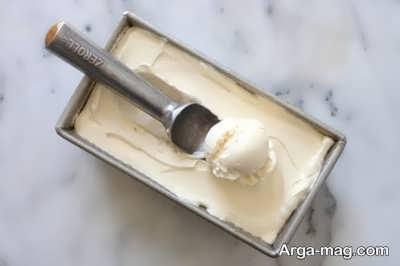 دستور تهیه بستنی وانیلی
