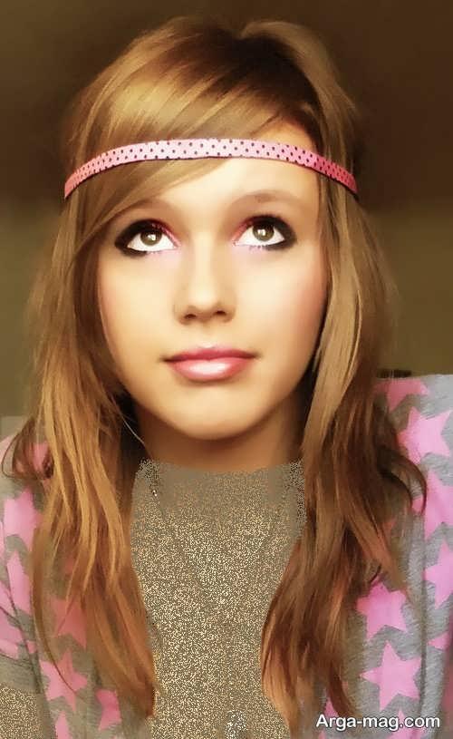 مدل میکاپ ملایم دخترانه