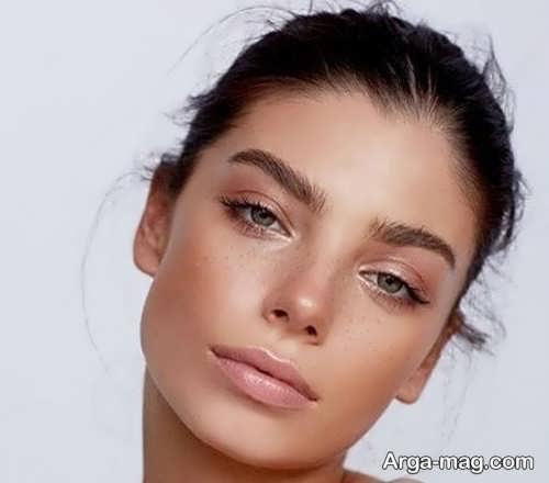 آرایش ساده و زیبا دخترانه