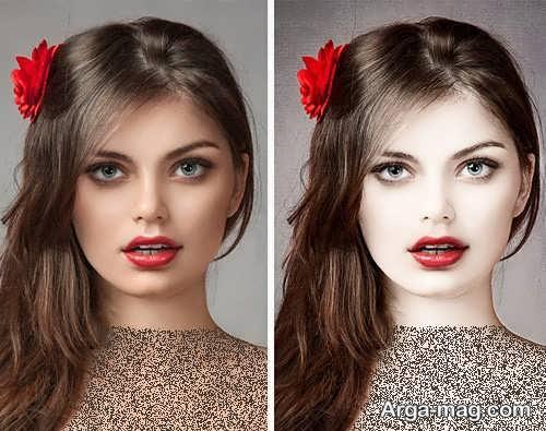 مدل میکاپ دخترانه ساده
