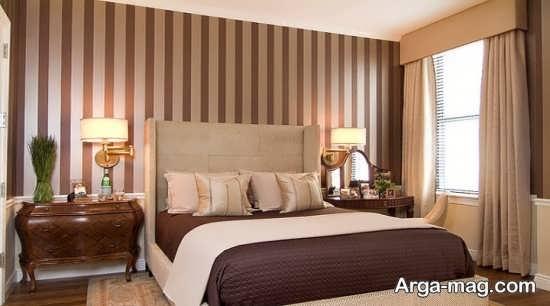 کاغذ دیواری زیبا برای اتاق خواب