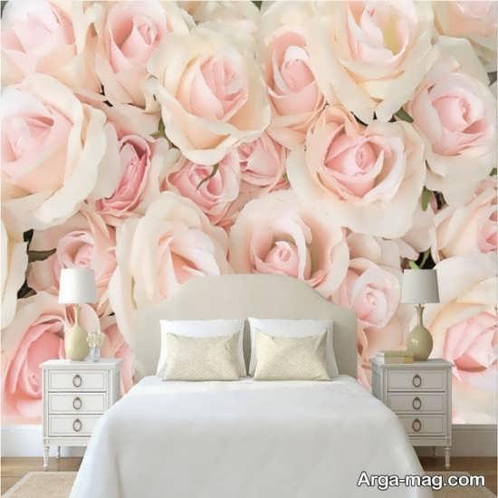 کاغذ دیواری شیک برای اتاق خواب