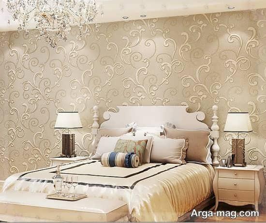 کاغذ دیواری دیدنی برای اتاق خواب