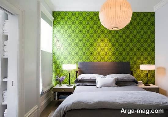 کاغذ دیواری جدید برای اتاق خواب
