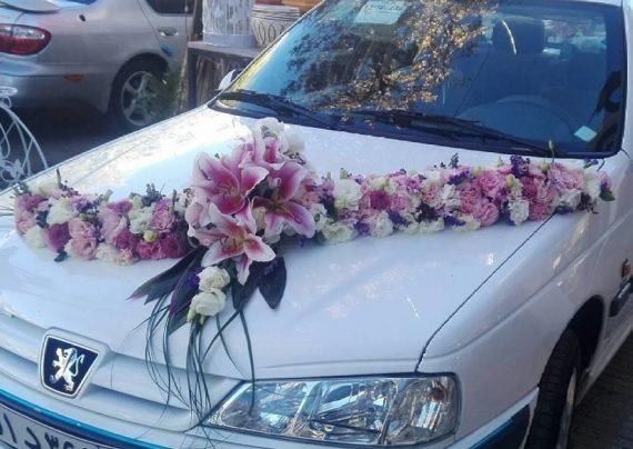 ماشین عروس پژو 405