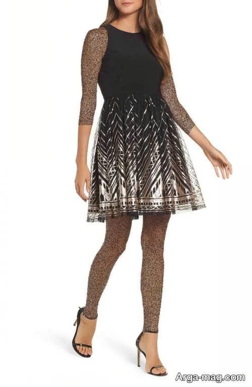 مدل لباس مجلسی زنانه 98 طرح دار و شیک