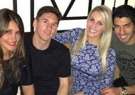 عکس متفاوت بازیکنان بارسلونا و همسرانشان