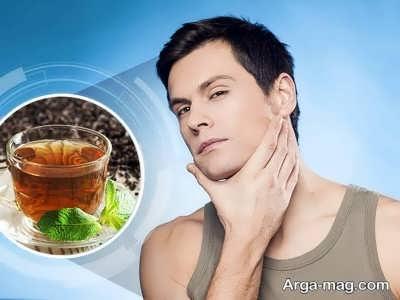 از بین بردن لکه های پوستی با چای سیاه