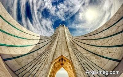 جاذبه های برج آزادی