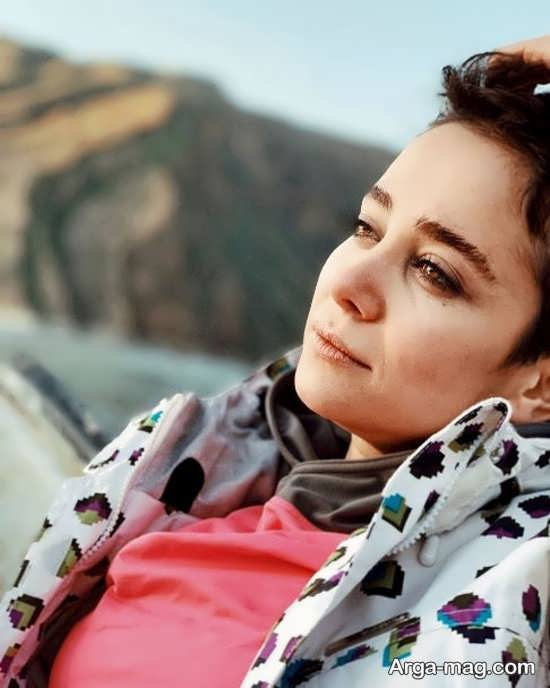 مدل موی کوتاه توسط الناز حبیبی