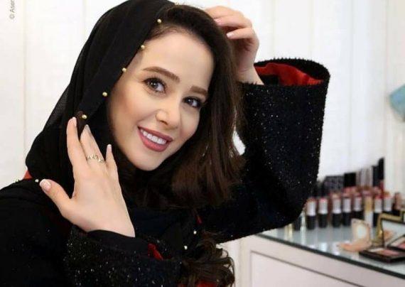 چهره بی هم ریخته الناز حبیبی