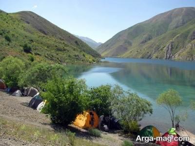 دریاچه تماشایی گهر