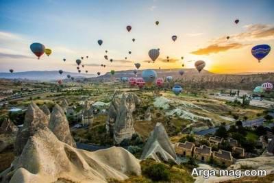 جاذبه های تاریخی کاپادوکیا در ترکیه