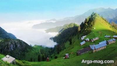 روستای دیدنی مازیچال