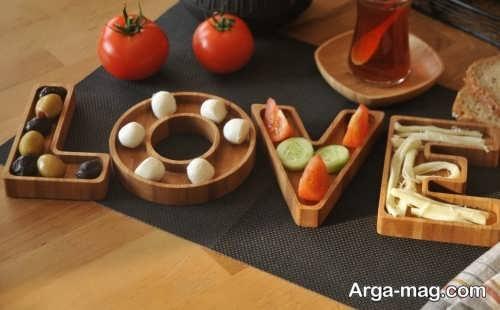 ظرف چوبی اردو