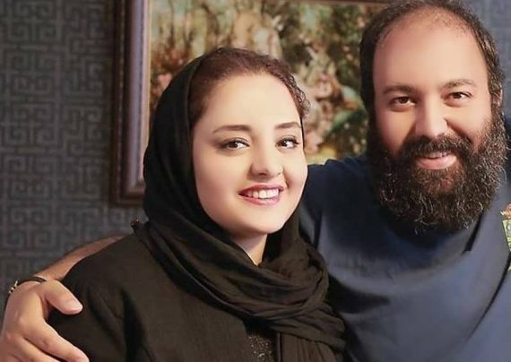 مانتوی زیبای نرگس محمدی
