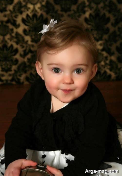 مدل موی کوتاه و زیبا برای نوزاد