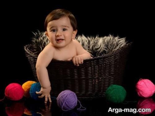 مدل موی جدید برای نوزاد