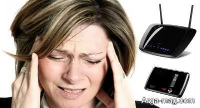 ضعف ذهنی زنان و امواج وای فای