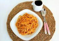طرز تهیه اسپاگتی بدون گوشت