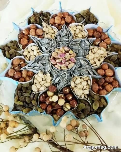 تزیین شیک و خلاقانه آجیل عید نوروز