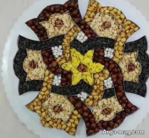 زیباسازی آجیل برای عید نوروز