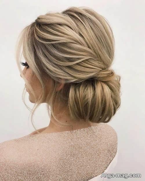 مدل موی ساده و بسته