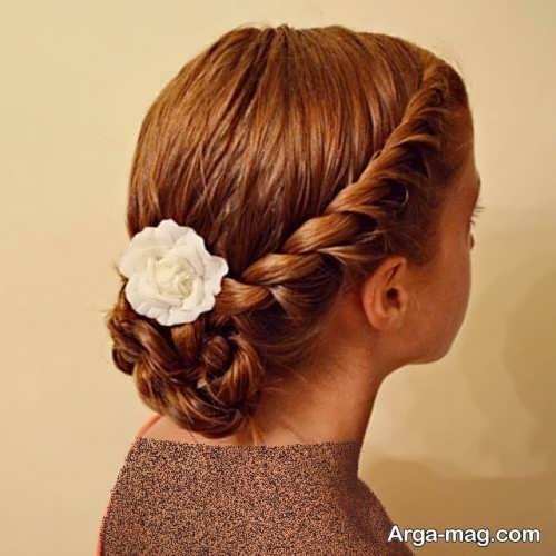 مدل موی زنانه همراه با بافت