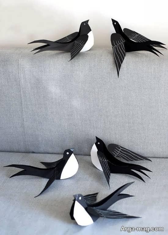 کاردستی پرنده