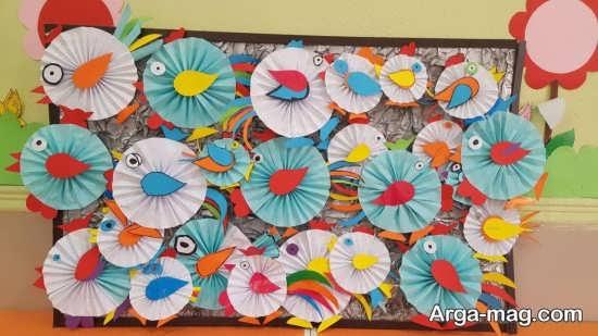 ایده های خاص برای ساخت کاردستی کودکانه پرنده