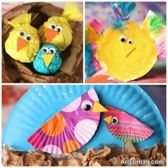 متفاوت ترین کاردستی کودکانه پرنده