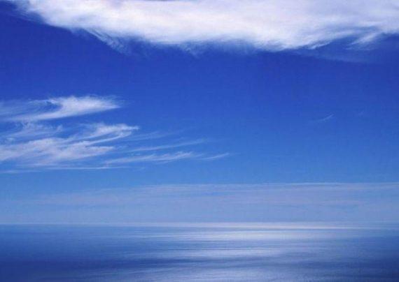 آسمان آبی