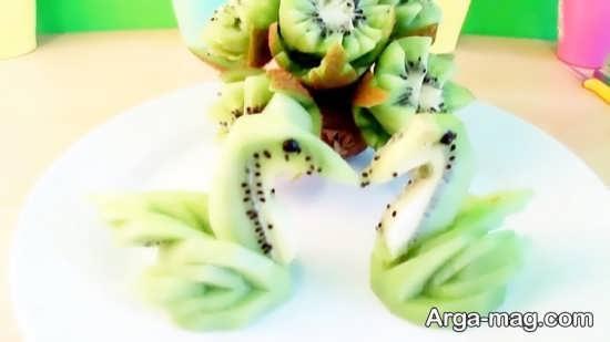تزیینات جالب میوه کیوی
