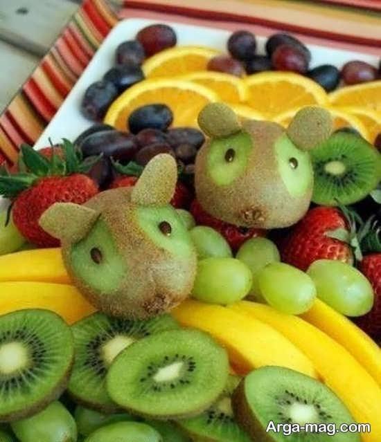 تزیینات متفاوت میوه کیوی