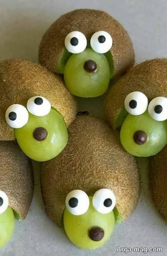 تزیینات دوست داشتنی میوه کیوی