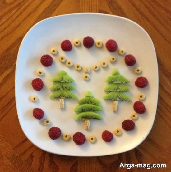 تزیینات جذاب میوه کیوی