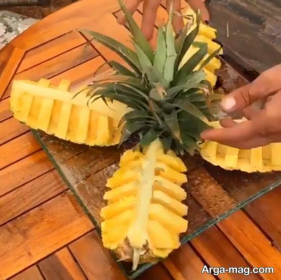 تزیین آناناس
