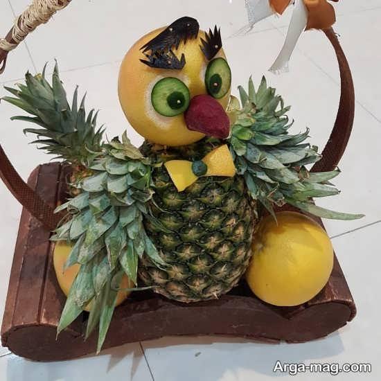 مدل های دوست داشتنی از تزئین آناناس