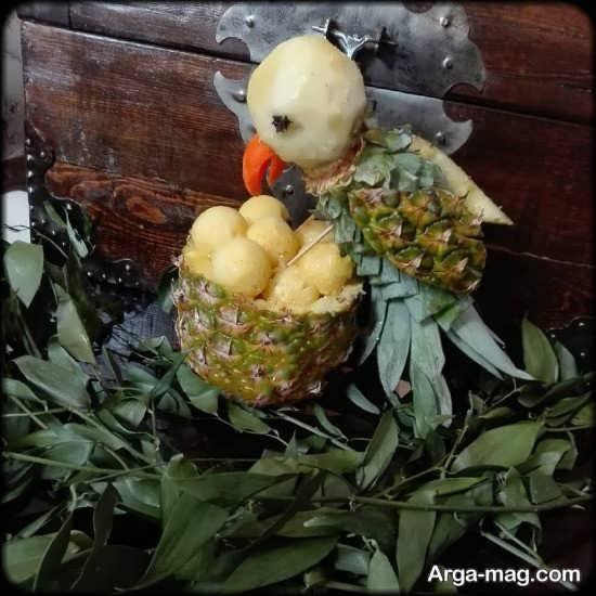 مدل های جدید از تزئین آناناس